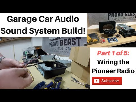 Building A Garage Audio System Part 1 Wiring The Radio