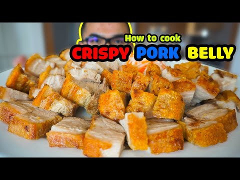 How to cook CRISPY PORK BELLY