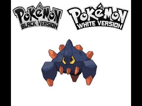 Pokemon Black/White - Roggenrola evolves into Boldore