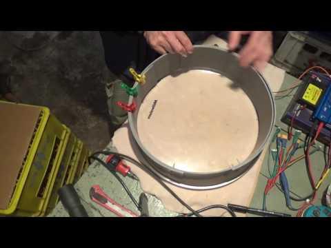 DIY - Homemade Electronic Drumkit part2 - Kick drum pad build