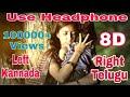 Garbadhi Vs Tharagani KGF 8D Songs Kannada Vs Telugu Songs Mix Left And Right Song mp3