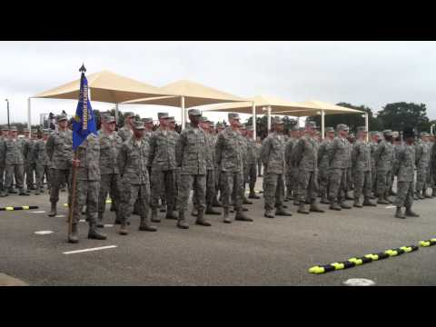 USAF BMT Coin Ceremony 01.24.13