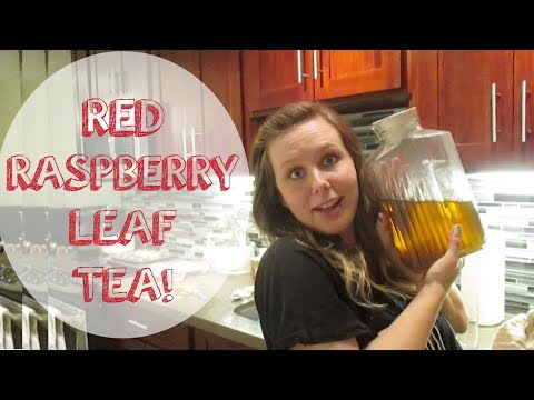 RED RASPBERRY LEAF TEA! (5.24.14 - Day 144)