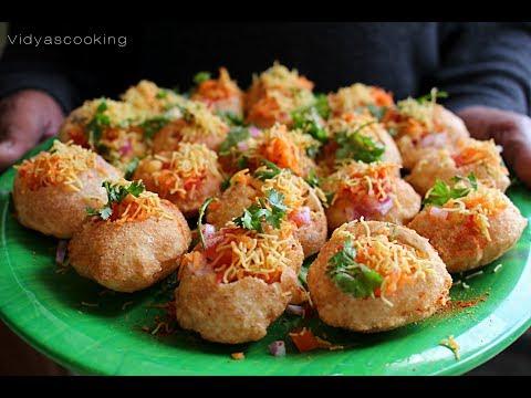 Street Food Series: SUKHA MASALA PURI/ LEMON PURI/ DRY MASALA PURI RECIPE