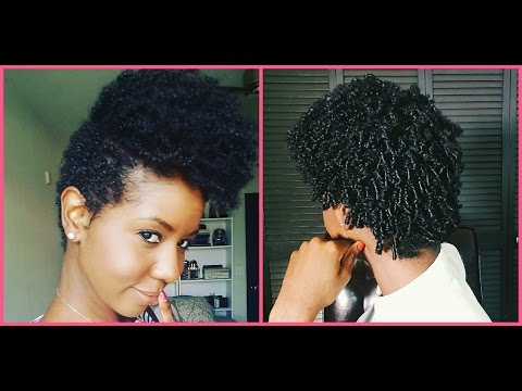 Natural Hair Journey #2 - Length Check #1