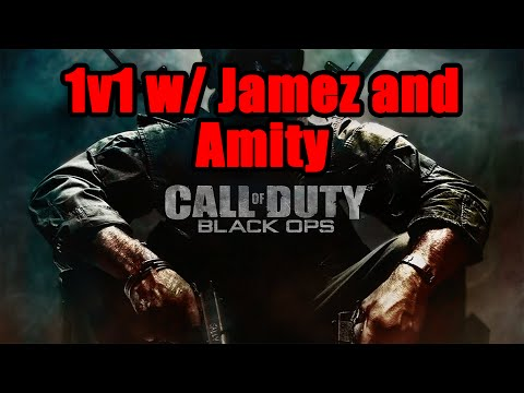 HILARIOUS BO1 1v1 w/ Jamez and Amity