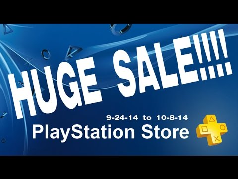 PSN Store huge Sale on PS4 PS3 PS Vita & PSP Previous PS Plus Games September 24- October 8