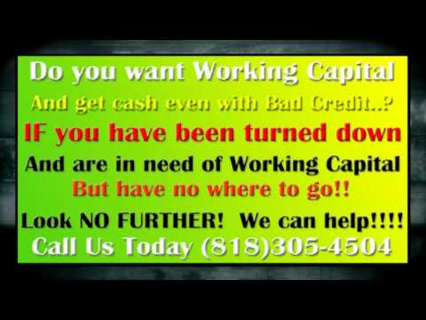 Cash For Small Business, Do you want Working Capital ?