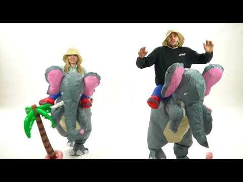 Bodysocks Adult Inflatable Elephant Costume