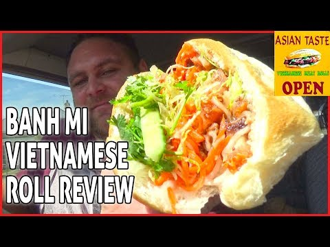 Asian Taste - Banh Mi Vietnamese Roll Review - NATIONAL SANDWICH DAY