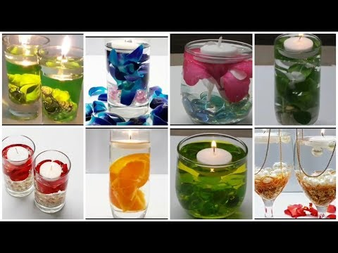 13 FLOATING CANDLES and WATER CANDLES / HOW TO MAKE WATER CANDLES & FLOATING CANDLES/ CANDLE HACKS.