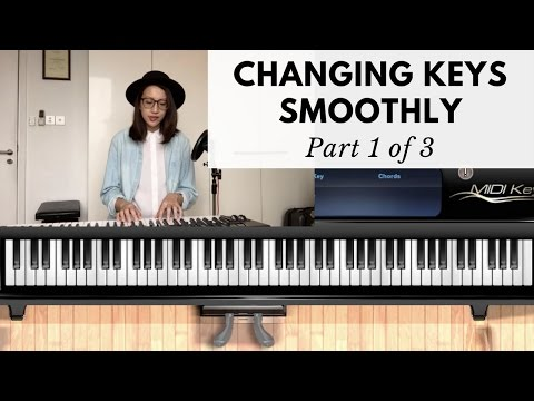 HOW TO CHANGE KEYS SMOOTHLY Part 1 of 3 | Worship Keyboard Tutorial