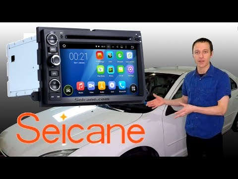 Seicane Navigation installation and honest review 2009 Ford Fusion