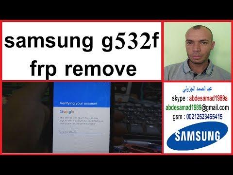 Download samsung g532f Frp Lock Remove طريقة حذف حساب جوجل