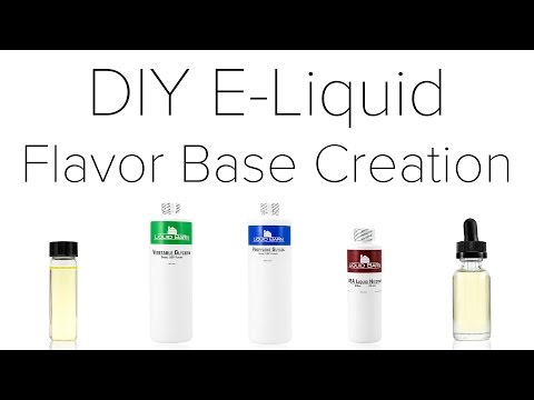 DIY E-Liquid Flavor Base Creation