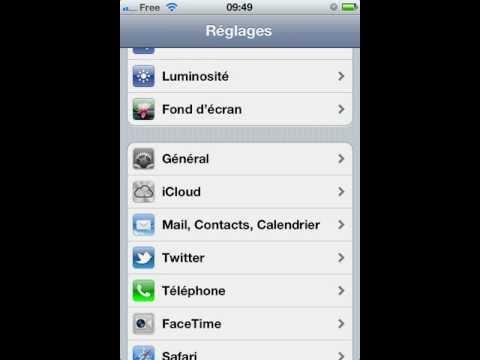 Tutoriel de configuration de l'APN iPhone pour Free Mobile