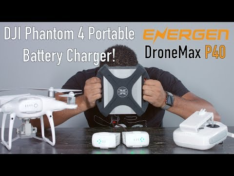 DJI Phantom 4 Portable Battery Charger! (DroneMax P40 Unboxing)