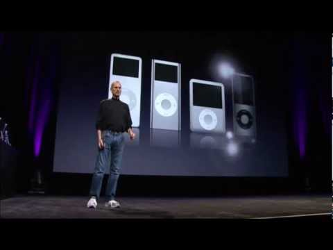 Apple Music Event 2008 - 4G iPod Nano Introduction