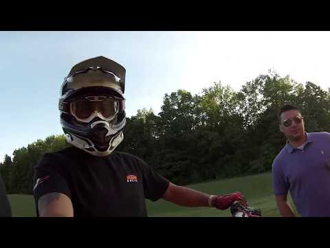 Backyard Dirt Bike JUMP Competition!