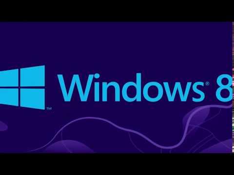 Microsoft Windows 8 Startup sound