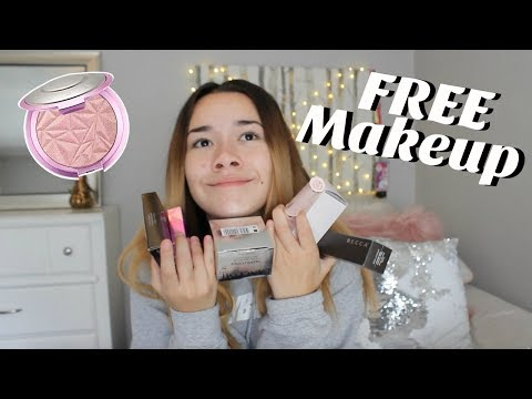 How To Get FREE Makeup sent to you!!