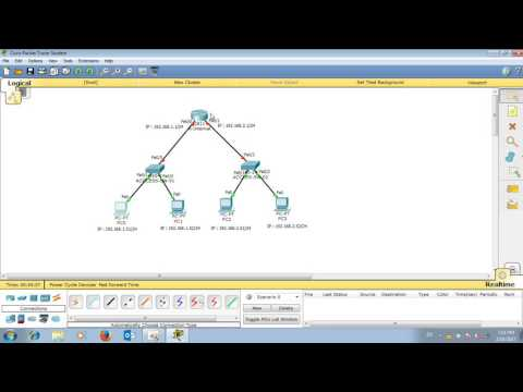 Command line Basic Configure DHCP on Cisco Router part 1 | របៀប Configure networking