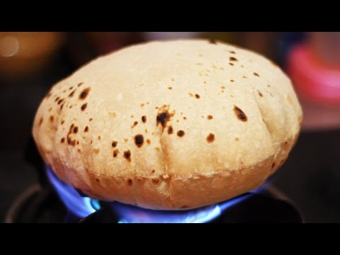 How to make Roti / phulka / chapati or Tortilla at home - (Indian Flate Bread Recipe)