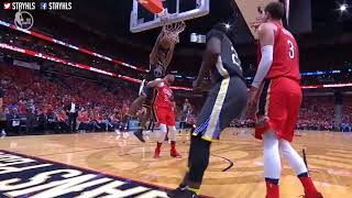 Golden State Warriors Vs New Orleans Pelicans Full Game Highlights   Game 3   2018 Nba Playoffs   Yo