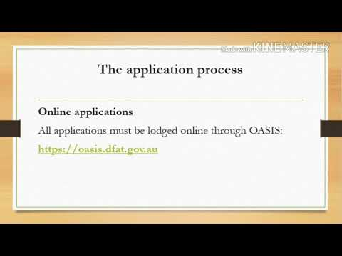How to apply for Australian Aid Scholarship