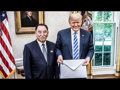 North Korea Mocks Trump's Tiny Hands With Giant Envelope