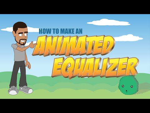 How to make an animated equalizer in Anime Studio  - MOHO Pro