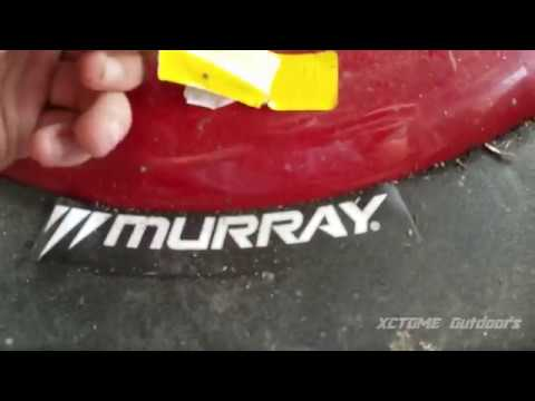 Fixing A Slighty Used Store Returned Murray MTD Push Mower