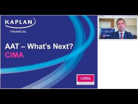 What's next after AAT? CIMA