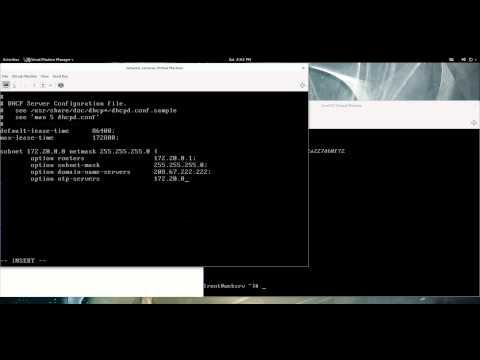 Setting up a DHCP Server on CentOS