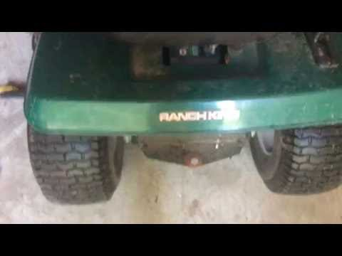 How To Start Lawn Tractor With Broken Solenoid