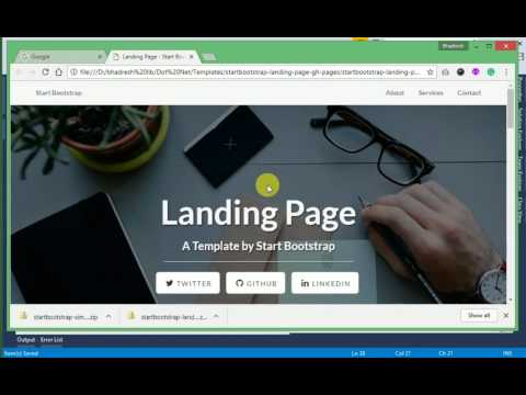 ASP.Net MVC, HTML Template Integration
