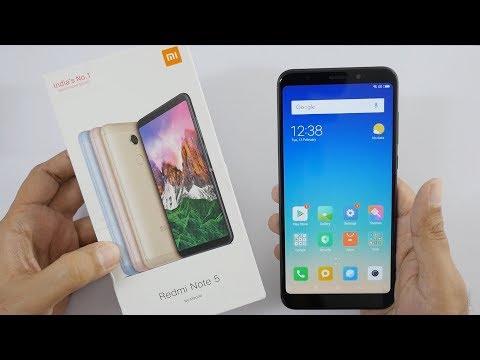 Xiaomi Redmi Note 5 Smartphone Unboxing & Overview