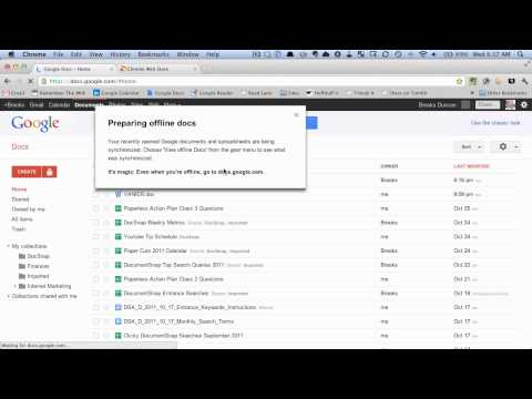 How To Enable And Use Offline Google Docs