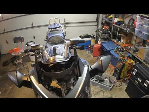 C14 electric windscreen reassembly
