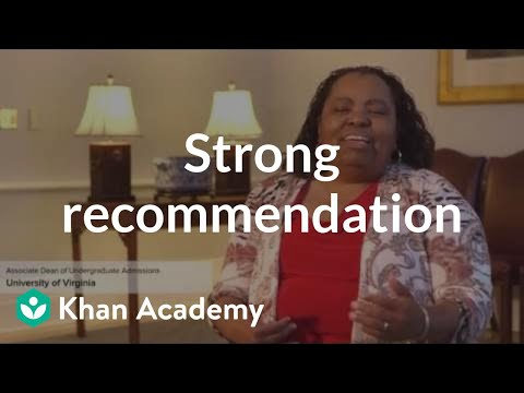 Elements of a strong recommendation letter