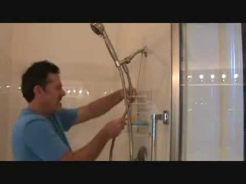 How to install a handheld shower head...Part 5