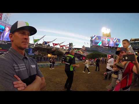 SUPERCROSS A2 Track Walk and PRO INSIGHTS from Cole Siebler and Damon Bradshaw