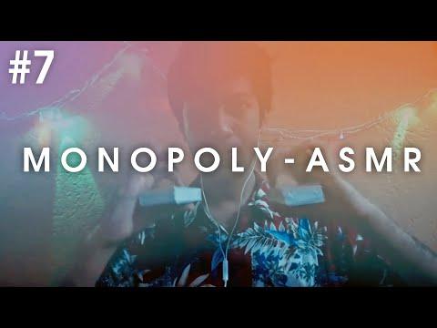 ASMR Monopoly Game Tapping | Crinkle | Talking Whisper | Aviz
