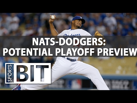 Washington Nationals at Los Angeles Dodgers | Sports BIT | MLB Picks