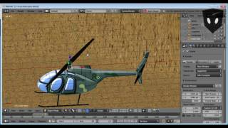 How to Get Your Helicopter Blade to Rotate Correctly in Blender