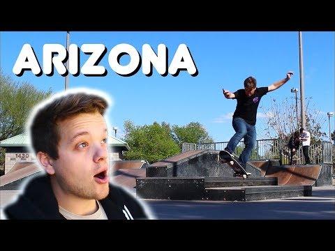 A PERFECT Skateboarding Day! | Arizona Vlog