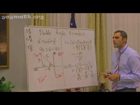 Trigonometry – Double-Angle Identities