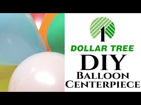 Dollar Tree DIY Balloon Centerpieces