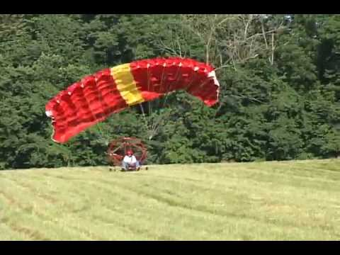 Buckeye Powered Parachute - Takeoff - Ultralight Aircraft
