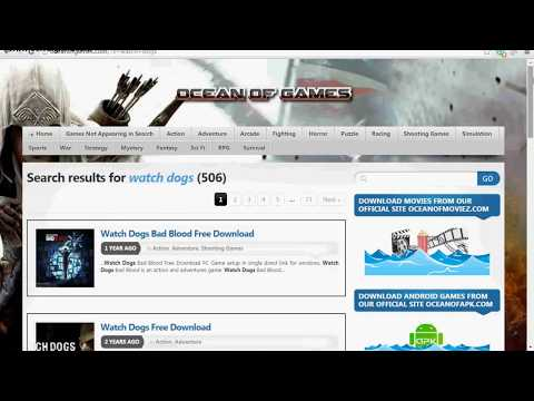 HOW TO DOWNLOAD WATCHDOGS FOR FREE ON YOUR PC/laptop!(100%WORKING)